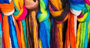 копринени шалове